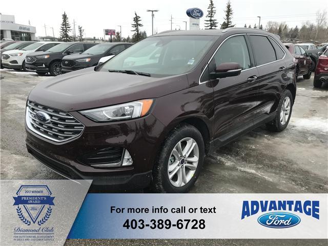 2019 Ford Edge SEL (Stk: K-549) in Calgary - Image 1 of 5