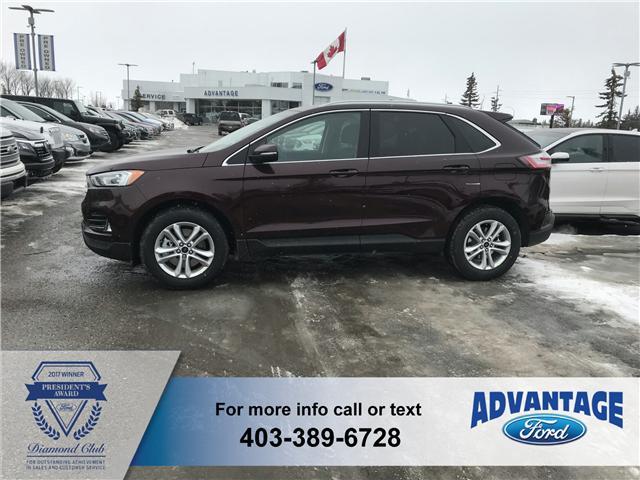 2019 Ford Edge SEL (Stk: K-549) in Calgary - Image 2 of 5