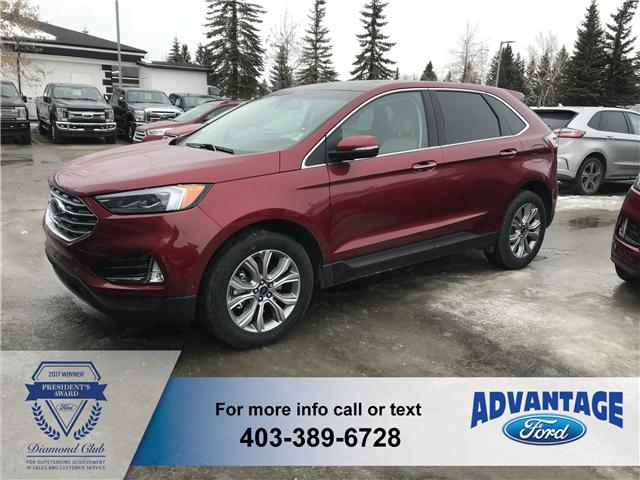 2019 Ford Edge Titanium (Stk: K-606) in Calgary - Image 1 of 5