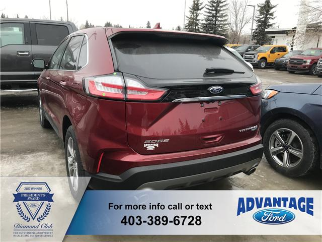 2019 Ford Edge Titanium (Stk: K-606) in Calgary - Image 3 of 5