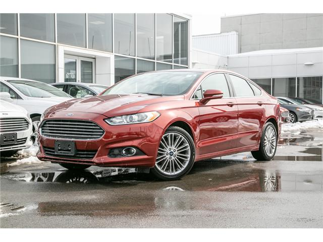 2014 Ford Fusion SE NAV-LEATHER-LOADED (Stk: 1911581) in Ottawa - Image 1 of 28