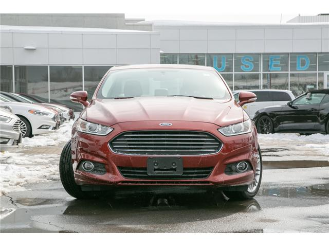 2014 Ford Fusion SE NAV-LEATHER-LOADED (Stk: 1911581) in Ottawa - Image 2 of 28