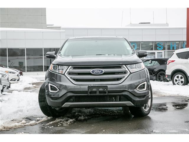 2016 Ford Edge Titanium AWD-LEATHER-POWER ROOF-LOADED-JUST TRADED (Stk: 1912241) in Ottawa - Image 2 of 29