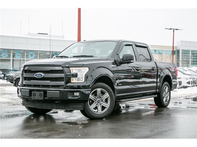 2017 Ford F-150 Lariat NAV-LEATHER-POWER ROOF-LOADED (Stk: 1810121) in Ottawa - Image 1 of 29