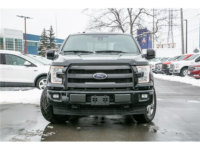 2017 Ford F-150 Lariat NAV-LEATHER-POWER ROOF-LOADED (Stk: 1810121) in Ottawa - Image 2 of 29