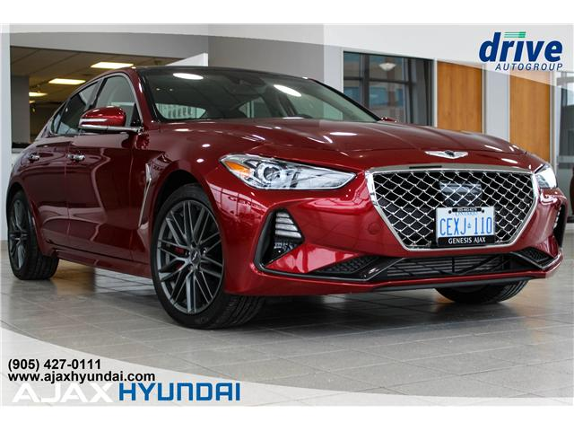 2019 Genesis G70 3.3T Dynamic (Stk: G19001) in Ajax - Image 1 of 32