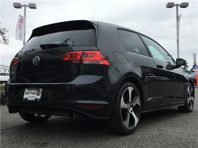 2015 Volkswagen Golf GTI 3-Door Autobahn (Stk: LF009780) in Surrey - Image 10 of 29