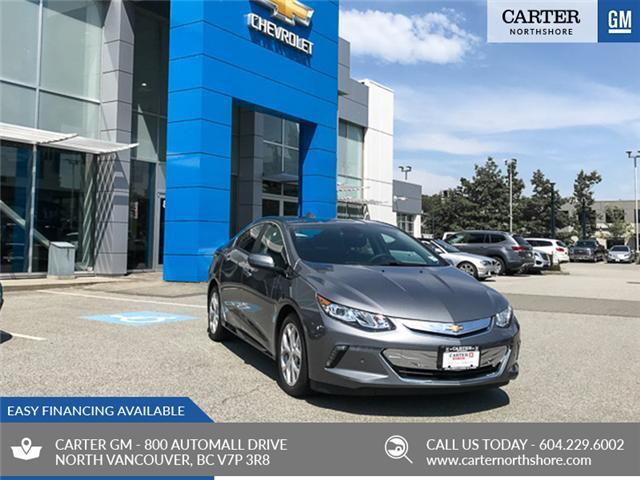 2018 Chevrolet Volt Premier (Stk: 8V29010) in North Vancouver - Image 1 of 7
