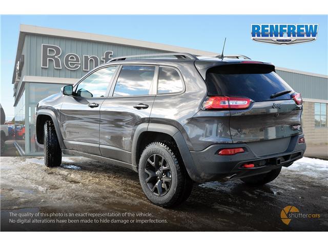 2018 Jeep Cherokee Trailhawk (Stk: J084) in Renfrew - Image 4 of 20
