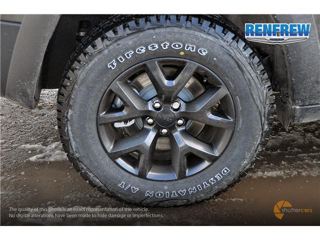 2018 Jeep Cherokee Trailhawk (Stk: J084) in Renfrew - Image 6 of 20