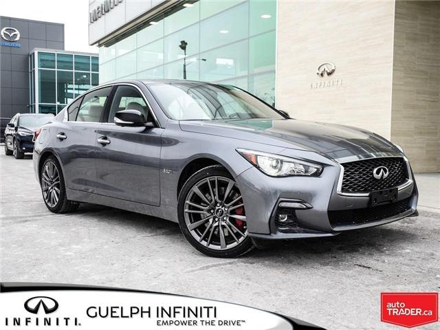 2019 Infiniti Q50 3.0t Red Sport 400 (Stk: I6904) in Guelph - Image 1 of 22