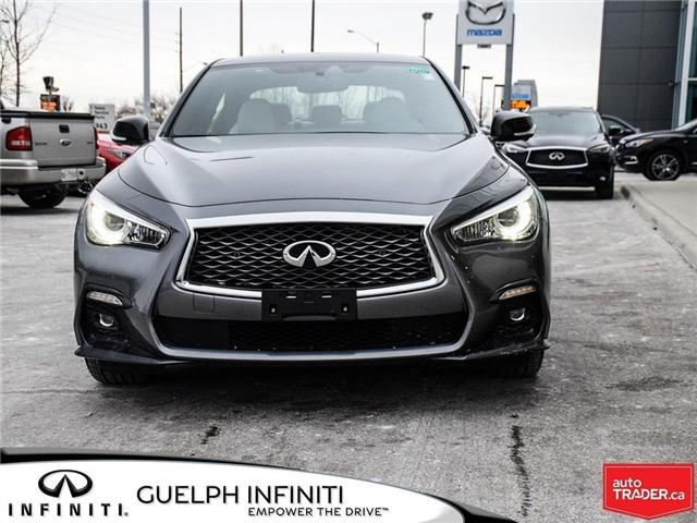 2019 Infiniti Q50 3.0t Red Sport 400 (Stk: I6904) in Guelph - Image 2 of 22