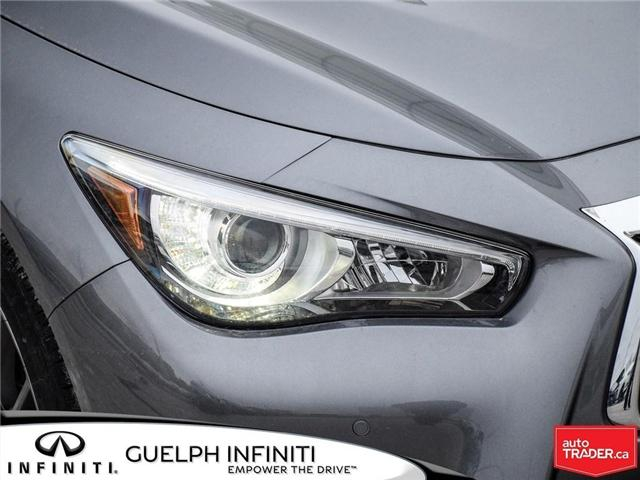 2019 Infiniti Q50 3.0t Red Sport 400 (Stk: I6904) in Guelph - Image 3 of 22