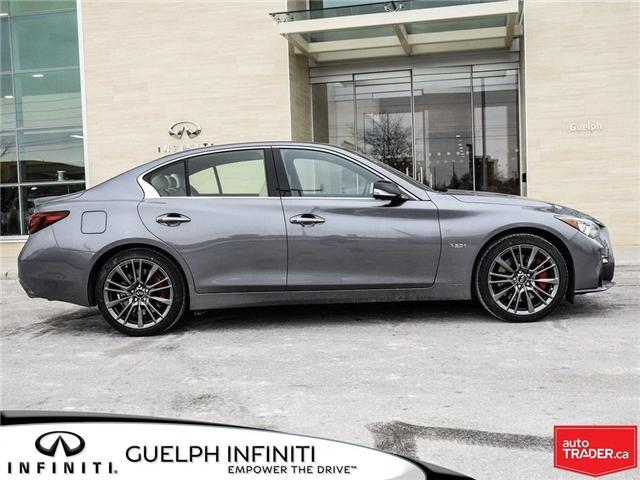 2019 Infiniti Q50 3.0t Red Sport 400 (Stk: I6904) in Guelph - Image 4 of 22