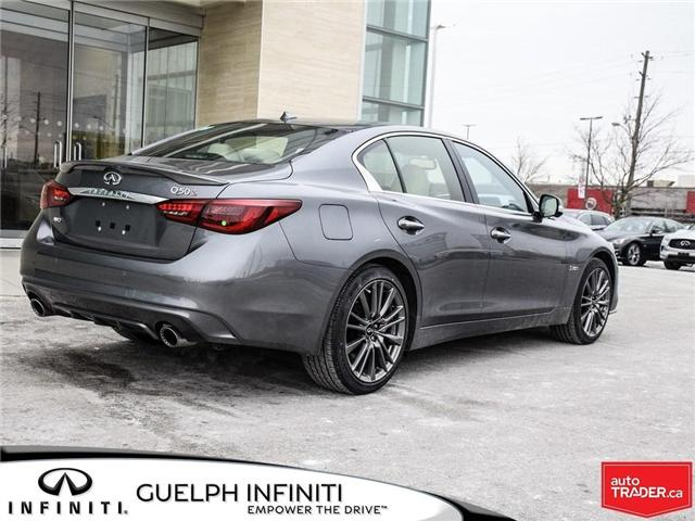 2019 Infiniti Q50 3.0t Red Sport 400 (Stk: I6904) in Guelph - Image 6 of 22