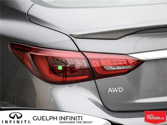 2019 Infiniti Q50 3.0t Red Sport 400 (Stk: I6904) in Guelph - Image 8 of 22