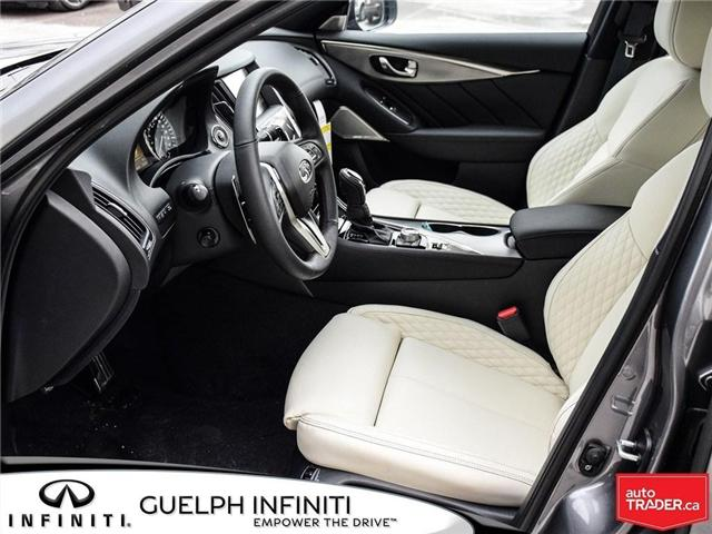 2019 Infiniti Q50 3.0t Red Sport 400 (Stk: I6904) in Guelph - Image 11 of 22
