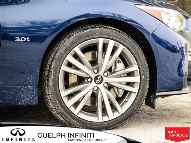 2019 Infiniti Q50 3.0T Sport (Stk: I6910) in Guelph - Image 5 of 22