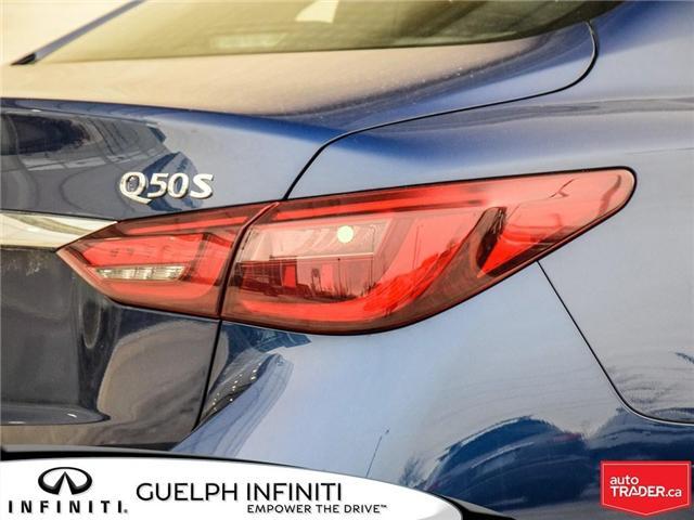 2019 Infiniti Q50 3.0T Sport (Stk: I6910) in Guelph - Image 7 of 22