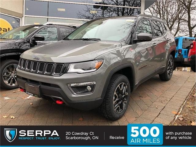 2019 Jeep Compass Trailhawk (Stk: 194046) in Toronto - Image 1 of 20