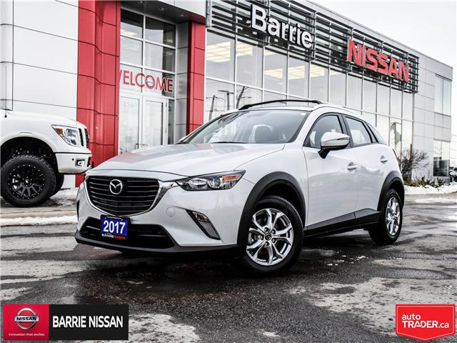 2017 Mazda CX-3 GS (Stk: 19005A) in Barrie - Image 1 of 25