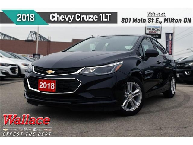 2018 Chevrolet Cruze LT/HTD SEATS/7-INCH SCRN/REAR CAM/CARPLAY&ANDROID 1G1BE5SM1J7146075 PR5055 in Milton