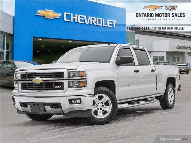 2014 Chevrolet Silverado 1500 2LT (Stk: 552902A) in Oshawa - Image 1 of 38