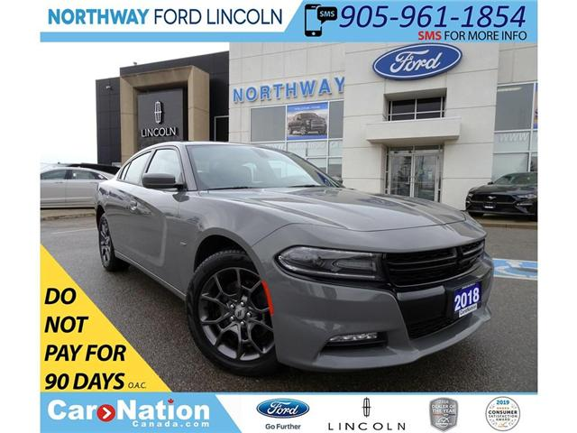 2018 Dodge Charger GT | AWD | NAV | SUN ROOF | TOUCHSCREEN | (Stk: W3047) in Brantford - Image 1 of 30