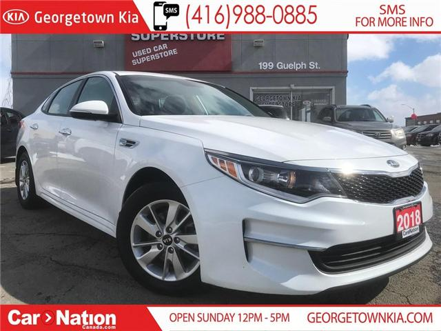 2018 Kia Optima LX HEATED SEATS| ALLOYS | BLUETOOTH| WARRANTY (Stk: DR501) in Georgetown - Image 1 of 25