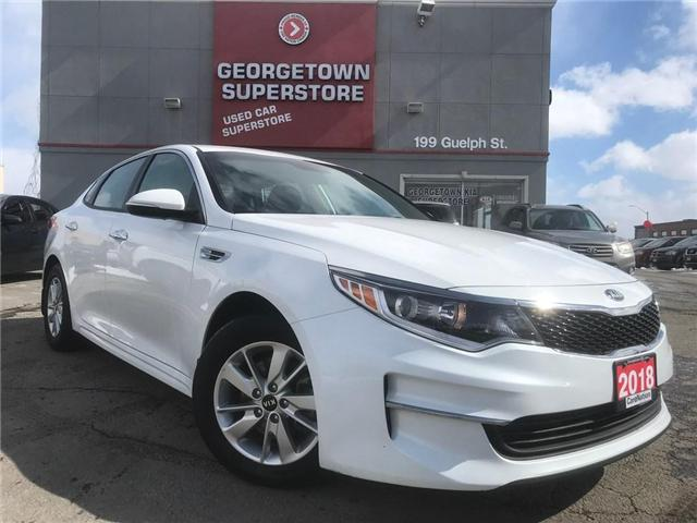 2018 Kia Optima LX HEATED SEATS| ALLOYS | BLUETOOTH| WARRANTY (Stk: DR501) in Georgetown - Image 2 of 25