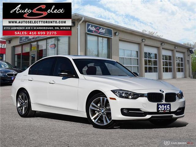 2015 BMW 320i xDrive (Stk: 1NQWR) in Scarborough - Image 1 of 28