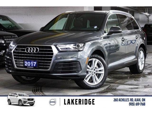 2017 Audi Q7 3.0T Progressiv (Stk: P0153) in Ajax - Image 1 of 30