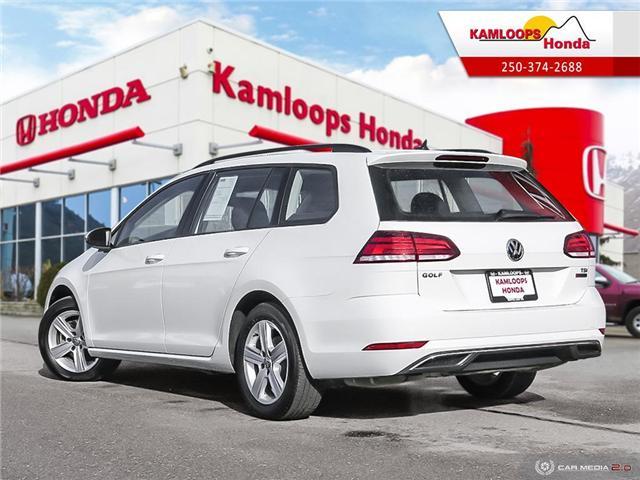 2018 Volkswagen Golf SportWagen 1.8 TSI Trendline (Stk: 14176U) in Kamloops - Image 4 of 25