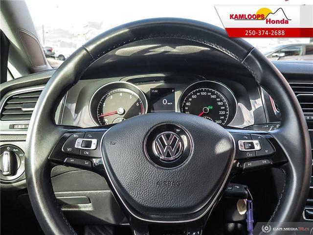 2018 Volkswagen Golf SportWagen 1.8 TSI Trendline (Stk: 14176U) in Kamloops - Image 14 of 25