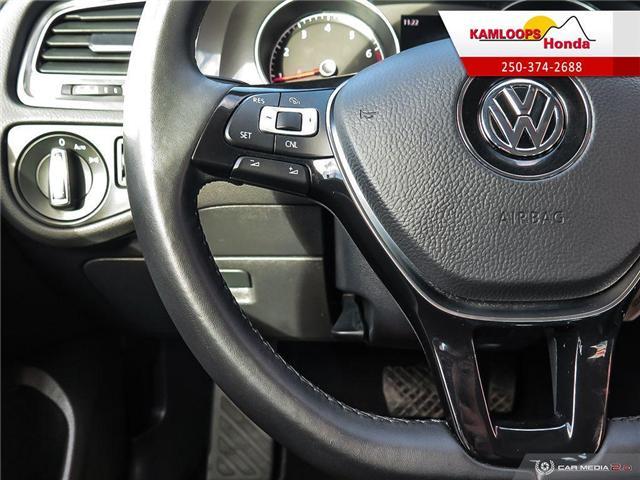 2018 Volkswagen Golf SportWagen 1.8 TSI Trendline (Stk: 14176U) in Kamloops - Image 16 of 25