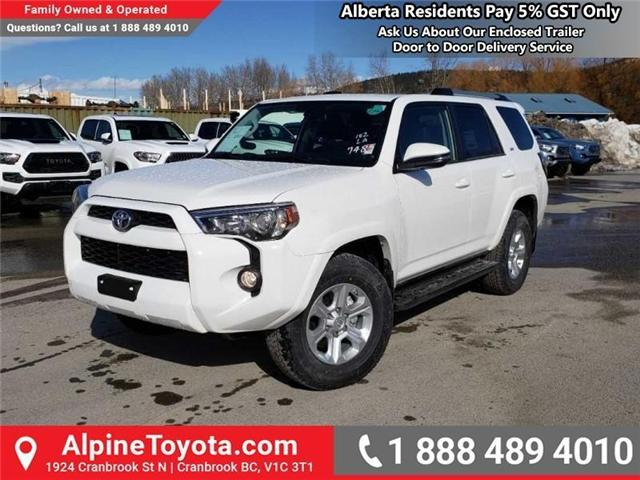 2019 Toyota 4Runner SR5 (Stk: 5672778) in Cranbrook - Image 1 of 15