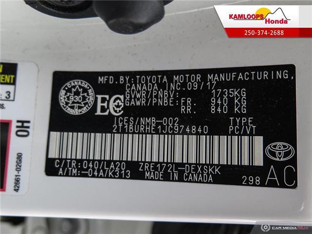 2018 Toyota Corolla SE (Stk: 14159B) in Kamloops - Image 26 of 26