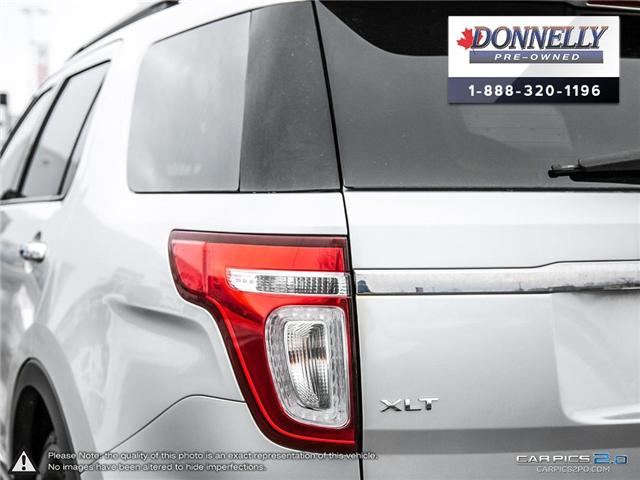 2012 Ford Explorer XLT (Stk: PBWMUR939A) in Kanata - Image 13 of 29