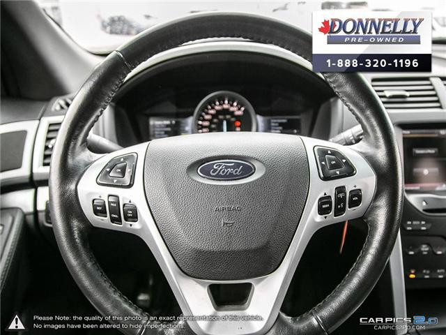 2012 Ford Explorer XLT (Stk: PBWMUR939A) in Kanata - Image 15 of 29
