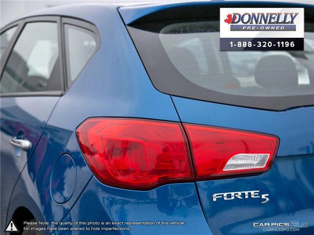 2013 Kia Forte 2.0L EX (Stk: CLMS19A) in Kanata - Image 11 of 28