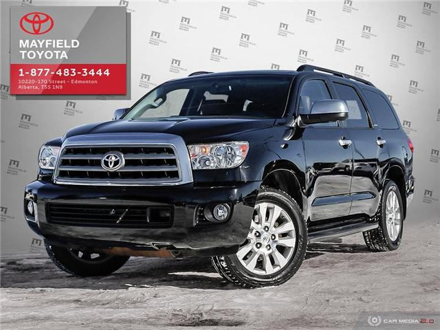 2015 Toyota Sequoia Platinum 5.7L V8 (Stk: 192043) in Edmonton - Image 1 of 20