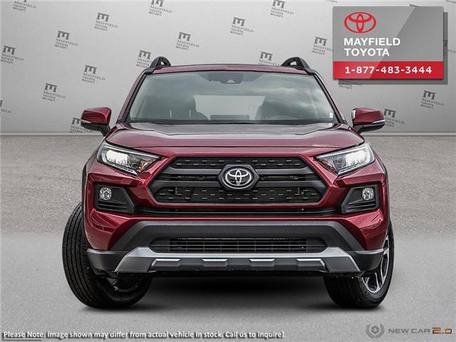 2019 Toyota RAV4 Trail (Stk: 1901035) in Edmonton - Image 2 of 24