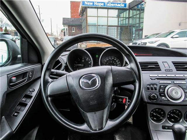 2010 Mazda Mazda3 GX (Stk: T19305) in Toronto - Image 12 of 16