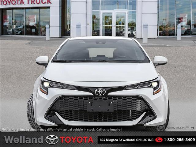 2019 Toyota Corolla Hatchback SE Upgrade Package (Stk: COH6393) in Welland - Image 2 of 24