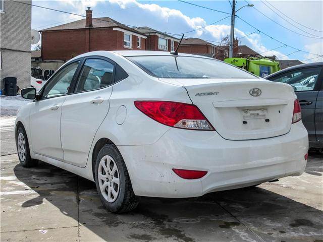 2014 Hyundai Accent GL (Stk: U06428) in Toronto - Image 3 of 13