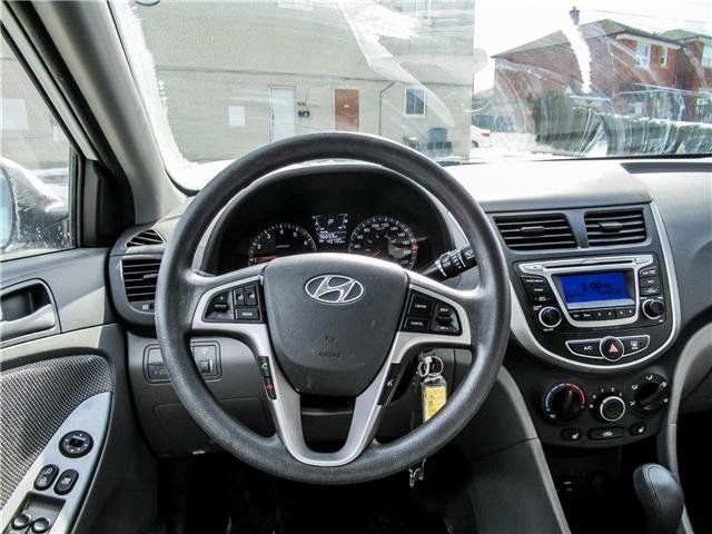 2014 Hyundai Accent GL (Stk: U06428) in Toronto - Image 10 of 13