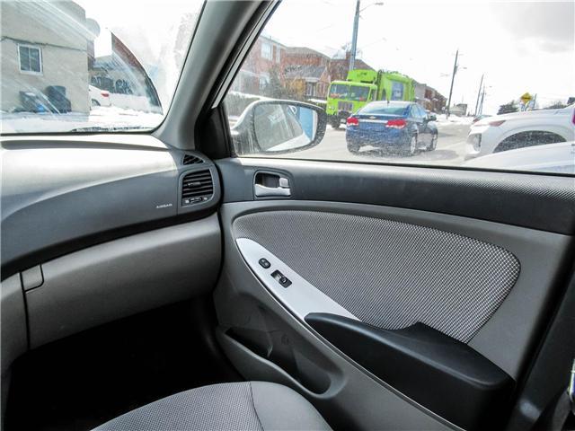 2014 Hyundai Accent GL (Stk: U06428) in Toronto - Image 12 of 13