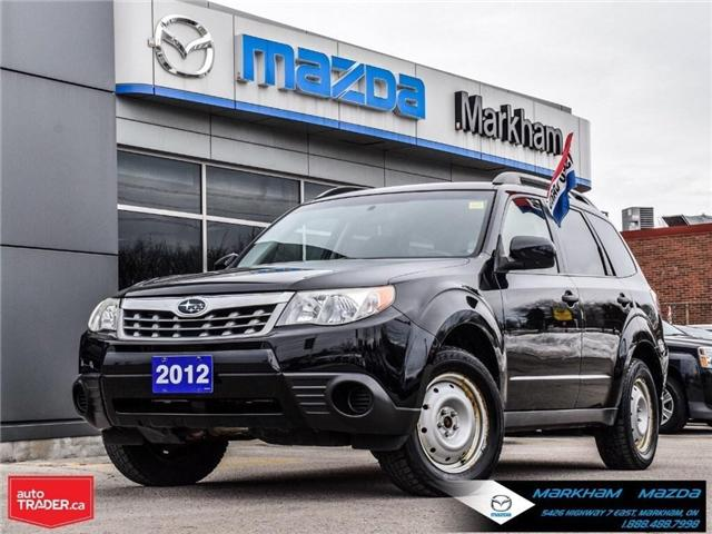 2012 Subaru Forester  (Stk: N190200A) in Markham - Image 1 of 27