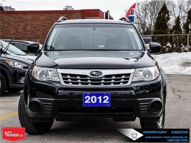 2012 Subaru Forester  (Stk: N190200A) in Markham - Image 2 of 27