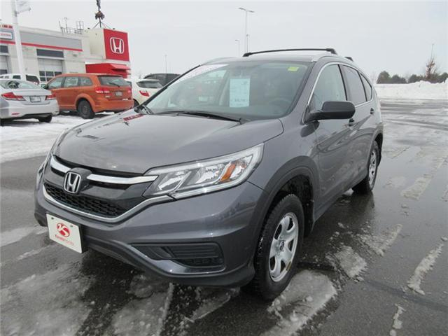 2015 Honda CR-V LX (Stk: K14190A) in Ottawa - Image 1 of 16